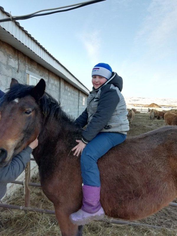 Участники №24 Денис и коняжка Бося, Конкурс Я и мой питомец, Тобольск