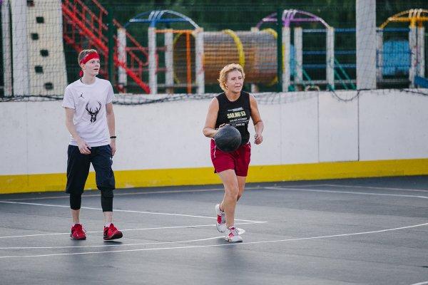 Бесплатно учим баскетболу., , Степногорск