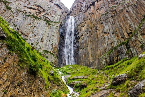Водопад Абай-Су,природный объект,Нальчик