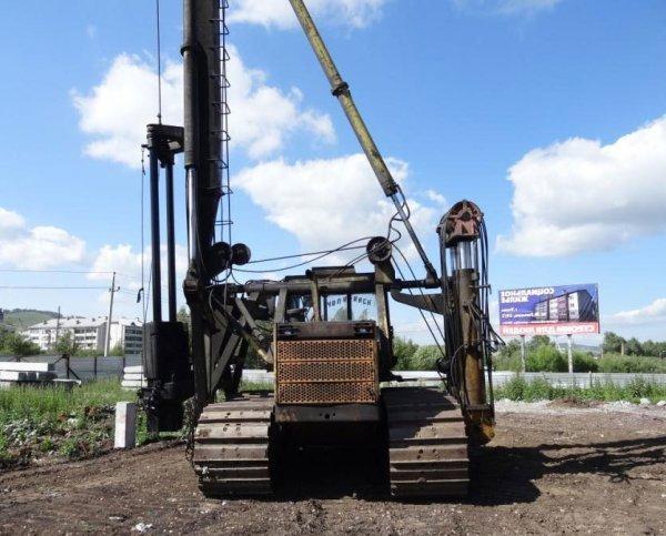 Аренда сваебойной установки КОГ-14,Аренда сваебойной машины,Красноярск