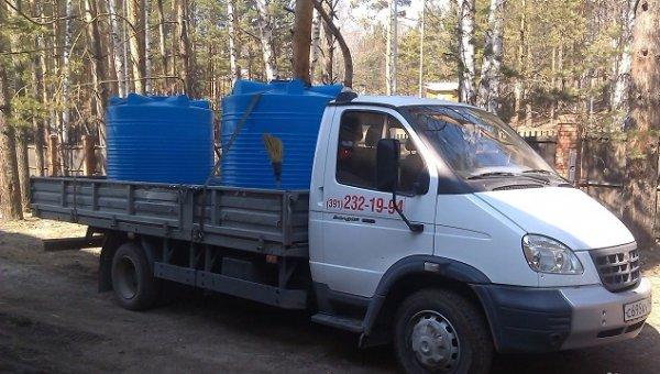 Доставка воды 4 куб. м ,Доставка воды,Красноярск