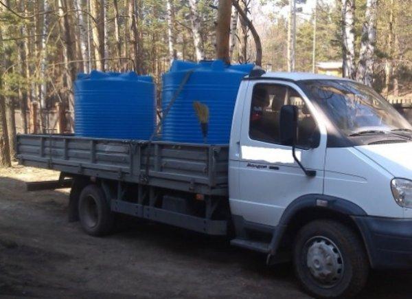 Аренда водовоза,Доставка воды,Красноярск