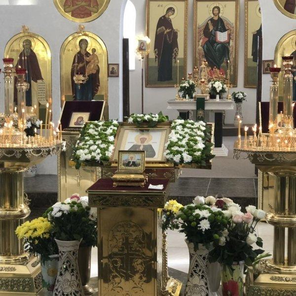 Храм Блаженной Матроны Московской