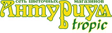 Антуриум Tropic, сеть цветочных магазинов,  Барнаул