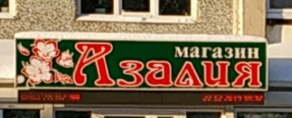 Азалия, магазин цветов и садово-огородных товаров, Тобольск