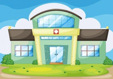 Районная больница посёлка Краскино, Больница для взрослых, Славянка