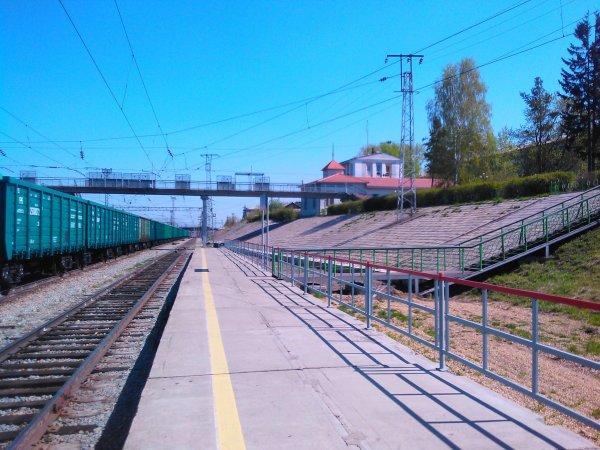 Станция Бугач,Железнодорожная станция,Красноярск