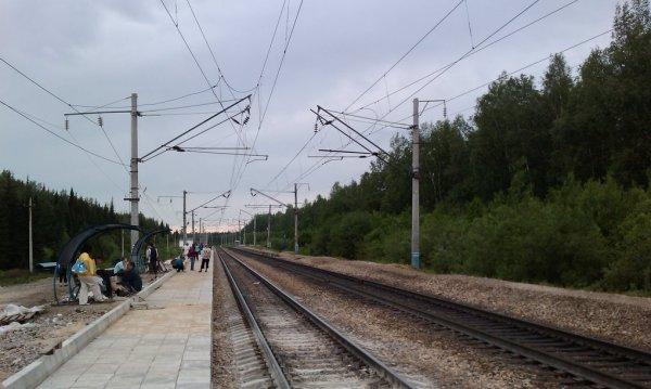 Станция Белые Росы,Железнодорожная станция,Красноярск