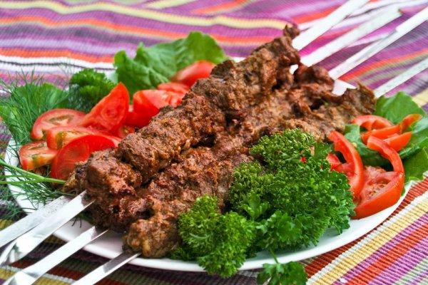 Шашлык-Машлык, Готовый маринованный шашлык.,  Талгар