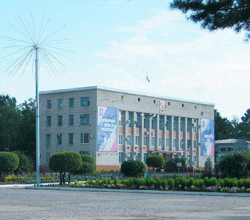 Общественный центр № 1, Администрация,  Лучегорск
