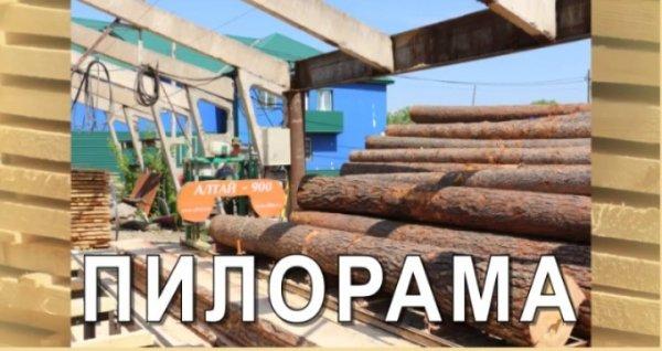 Пилорама,Распиловка древесины,Юрга