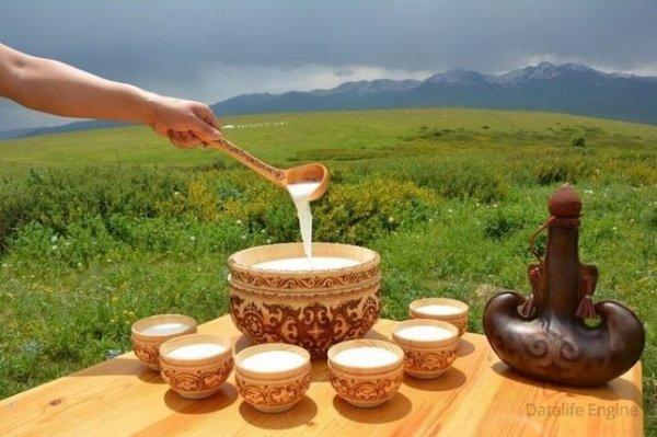 Қымыз, Кисломолочная продукция ,  Талгар