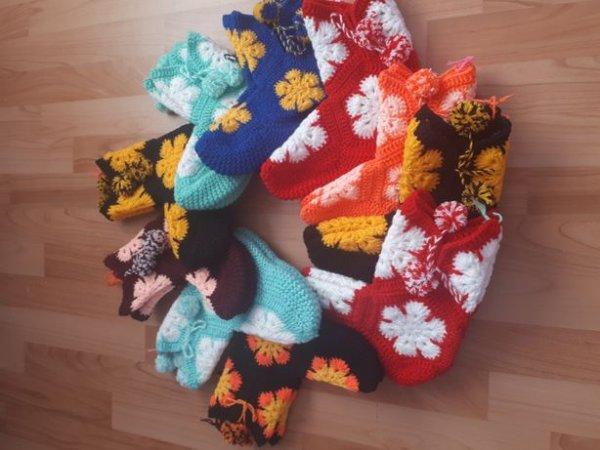 Вязаные носки, Ручная работа,  Талгар