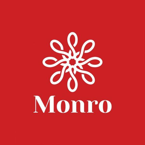 логотип компании МОНРО, федеральная обувная сеть