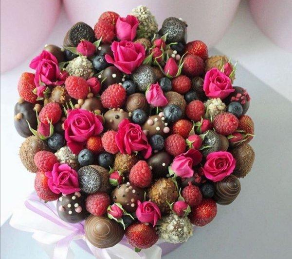 FruttoSmile, магазин фруктовых и цветочных букетов, Иркутск
