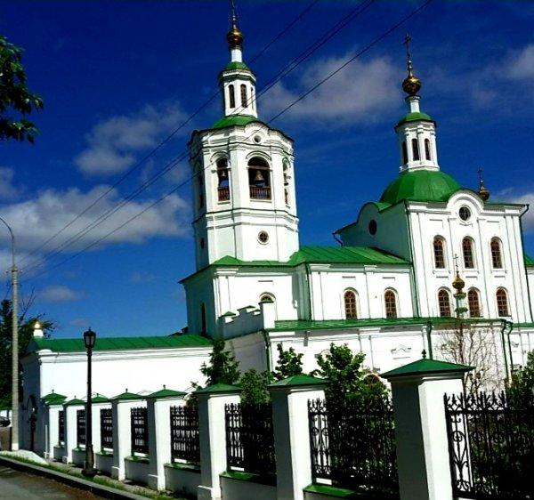 Вознесенско-Георгиевский храм,Православный храм,Тюмень