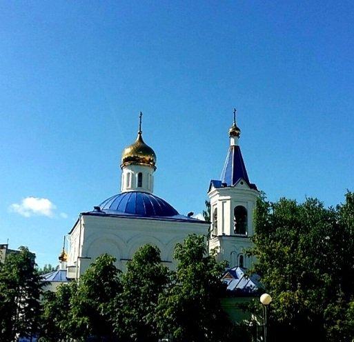 Храм в честь иконы Божьей Матери Целительница,Православный храм,Тюмень