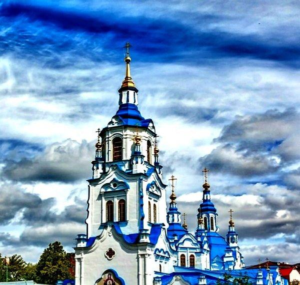 Знаменский кафедральный собор,Православный храм,Тюмень