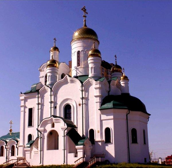 Храм преподобного Серафима Саровского,Православный храм,Тюмень