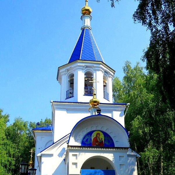 Храм в честь иконы Божией Матери Утоли моя печали,Православный храм, Воскресная школа,Тюмень