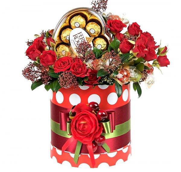 Букет из конфет,Доставка цветов и букетов,Тюмень