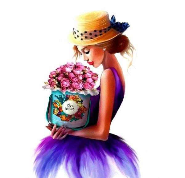 Магазин Семь Цветов,Магазин цветов, Доставка цветов и букетов,Тюмень