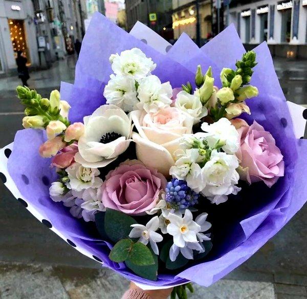 Арт-букет,Доставка цветов и букетов, Магазин цветов,Тюмень
