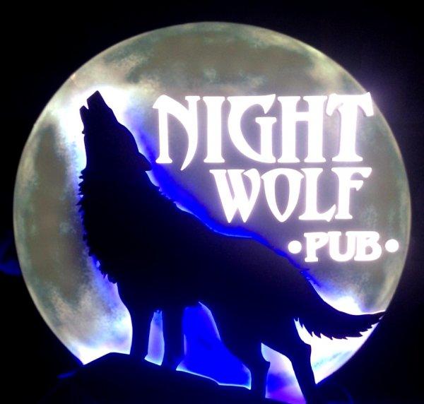 Rock Pub Night Wolf,Бар, паб,Тюмень