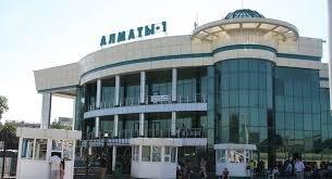 Алматы-1,железнодорожный вокзал,Алматы