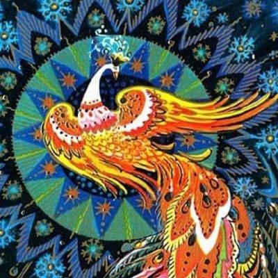 логотип компании Жар-птица Мастерица