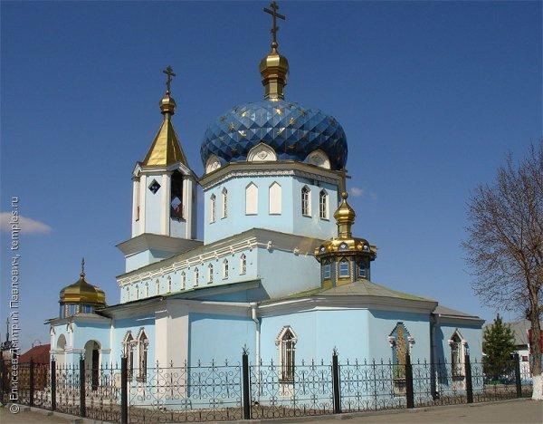 Никольский храм,Храм,Магнитогорск