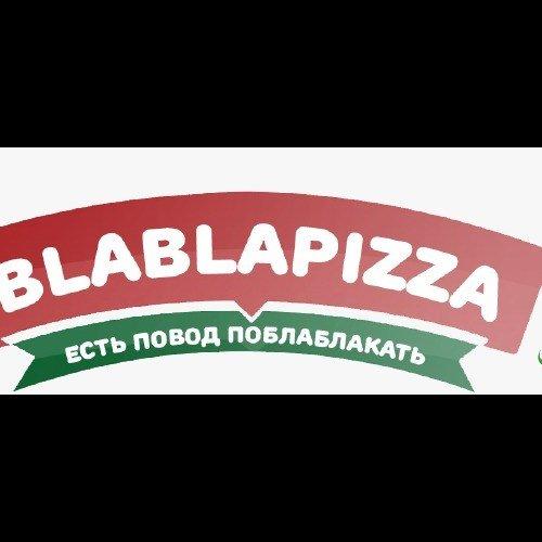 логотип компании BLABLAPIZZA
