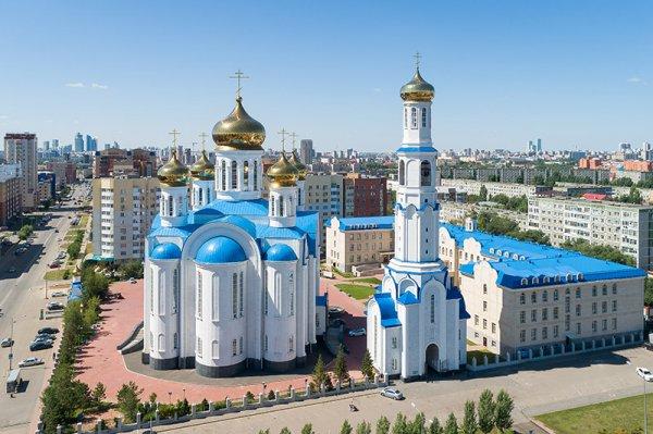 Свято-Успенский кафедральный собор,,Нур-Султан