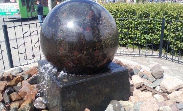 """логотип компании """"Плавающие вращающиеся шары"""""""