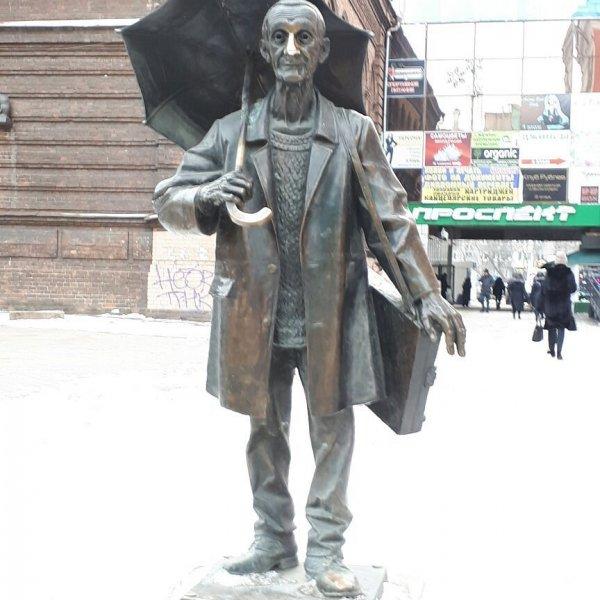логотип компании Памятник художнику Андрею Поздееву в Красноярске