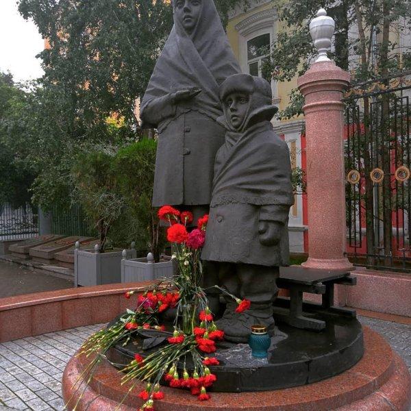 Памятник Дети войны в Красноярске,Достопримечательности Красноярска,Красноярск