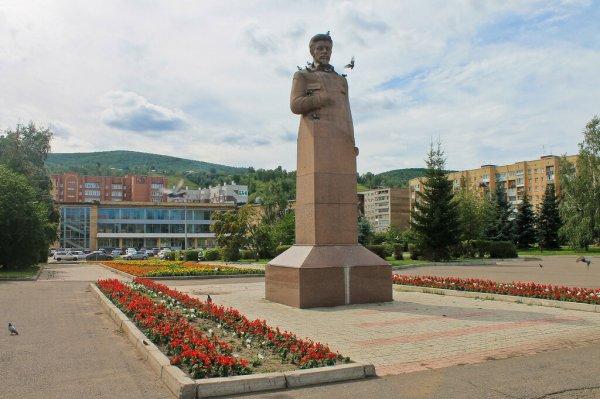 Я. М. Свердлов,Памятник, скульптура,Красноярск