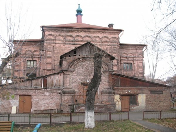 логотип компании Церковь Николая Чудотворца при Красноярской городской больнице в Красноярске