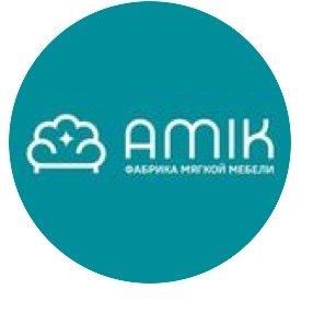 логотип компании Амик, ООО, мебельная фабрика