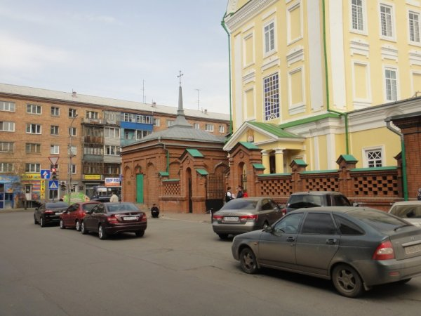 логотип компании Часовня Иконы Божией Матери Иверская в Благовещенском Красноярском монастыре