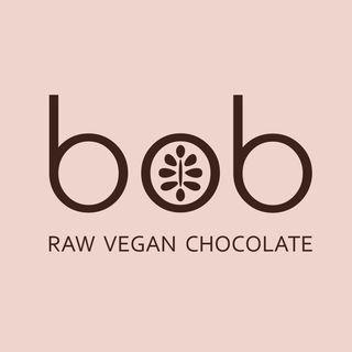 логотип компании Bob raw vegan chocolate