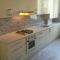 Кухня фасады пленка, стеновая панель фотопечать