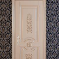 Модель №7, Одностворчатая дверь, Дуб/Ясень