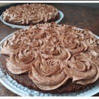 Пирог Шоколадно-сырный