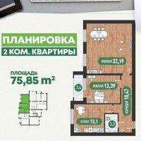2-х комнатная