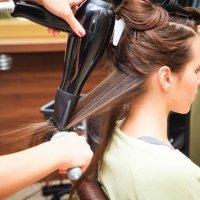 Сушка волос по форме