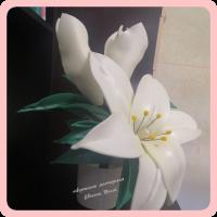 Лилия - светильник (маленькая)