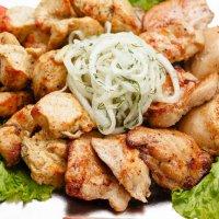 Куриный шашлык порция