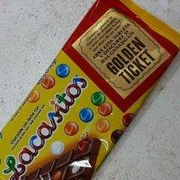 Молочный шоколад с цветным шоколадным драже