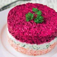 Салат Овощной торт